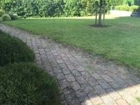 græsslåning +fjerne ukrudt