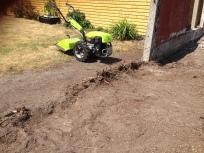 fræsning af stub + jord